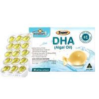 Viên bổ sung DHA Algal Oil - Dầu tảo biển cho bé từ 1 tuổi