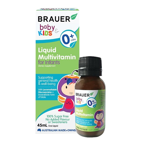 Siro Brauer Baby Kids Liquid Multivitamin For Infants 0+