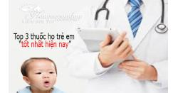 +3 Thuốc ho cảm cho trẻ em tốt nhất hiện nay, mẹ nên biết
