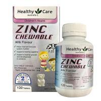 Viên nhai bổ sung kẽm Healthy Care Zinc Chewable c...