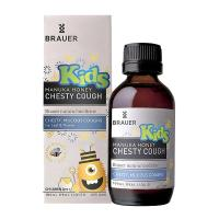 Siro trị ho, long đờm Brauer Kids Chesty Cough 100ml cho bé