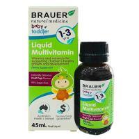 Siro vitamin tổng hợp Brauer Liquid Multivitamin từ 1-3 tuổi
