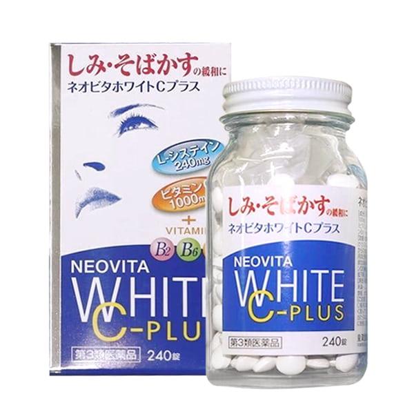 Vita White Plus C.E.B2 - Viên Uống Trắng Da, Trị Nám Tàn Nhang