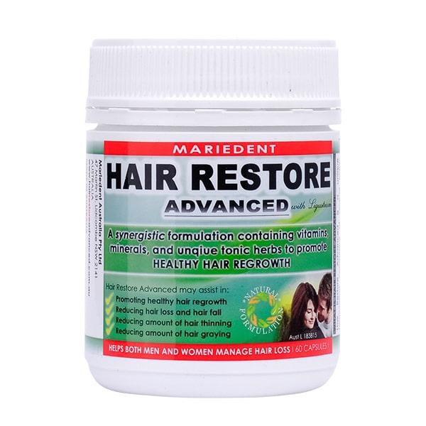 Viên uống mọc tóc Hair Restore Advanced 60 viên của Úc