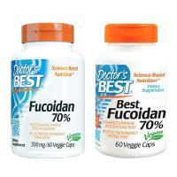 Doctor's best best fucoidan 70% 60 veggie caps, chữa ung thư