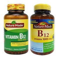 Viên uống Nature Made Vitamin B12 1000 mcg hộp 400 viên của Mỹ