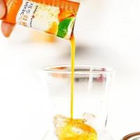 Nước ép quýt Sanga Jeju Tangerine Vita Tok Tok hộp 30 gói