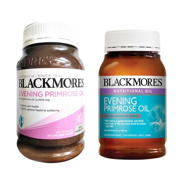 Tinh dầu hoa anh thảo Blackmores Evening Primrose Oil mẫu mới của Úc