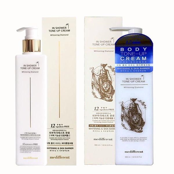 Sữa tắm trắng Medifferent In Shower Tone Up Cream Hàn Quốc