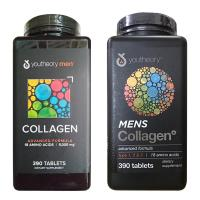 Collagen nam - Youtheory Mens Collagen type 1 2 & 3 hộp 390 viên