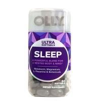 Viên kẹo dẻo ngủ ngon Olly Ultra Sleep 60 viên chính hãng Mỹ