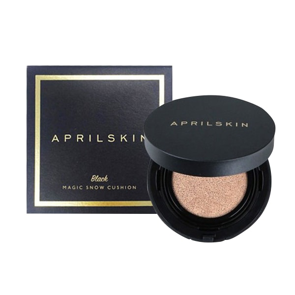 Phấn nước April Skin Black Magic Snow Cushion 15g Hàn Quốc