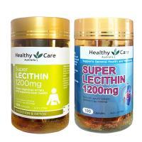 Mầm đậu nành Super Lecithin 1200mg 100 viên Healthy Care Úc