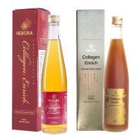 Nước uống Collagen Enrich Hebora 500ml Nhật, chống lão hóa