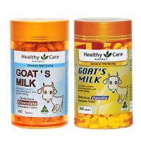 Viên sữa dê cô đặc Goat Milk Healthy Care 300 viên của Úc