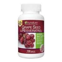 Viên chống oxy hóa Trunature Grape Seed Resveratrol 150 viên