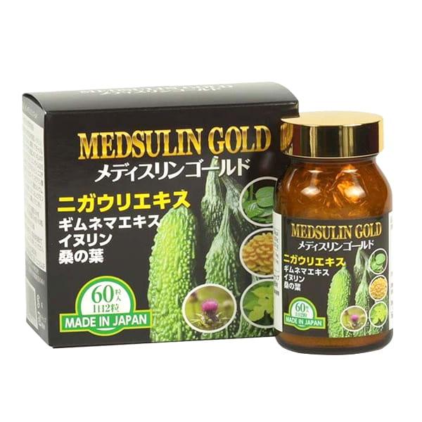 Viên uống tiểu đường Medsulin Gold JpanWell Nhật Bản 60 viên