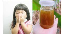 Tiết lộ cách làm siro ho sổ mũi cho bé từ dược liệu tự nhiên
