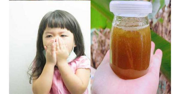 Tiết lộ cách tự làm siro ho sổ mũi cho bé từ dược liệu tự nhiên