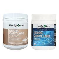 Sụn vi cá Healthy Care Shark Cartilage 750mg 200 viên của Úc