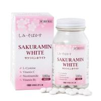 Viên uống trị nám trắng da Sakuramin White 180 viên Nhật Bản
