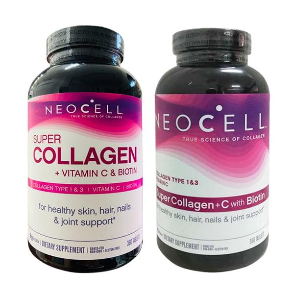 Neocell Super Collagen +C Type 1&3 360 Viên của Mỹ, giá tốt