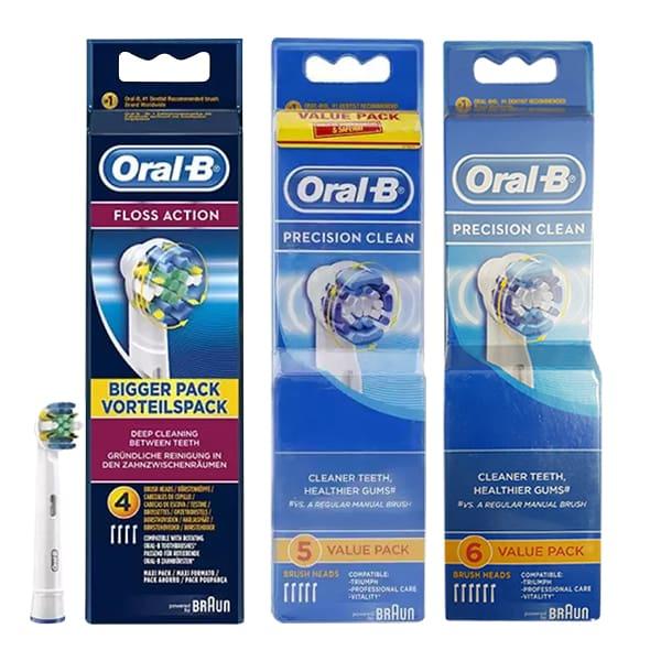 Set đầu bàn chải điện Oral-B Precision Clean - Dùng thay thế