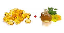 Uống tinh dầu hoa anh thảo và vitamin e có thực sự tốt không