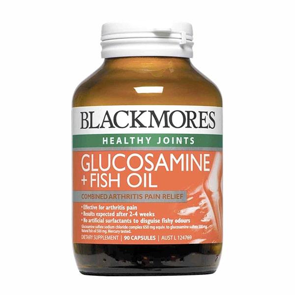 Blackmores Glucosamin + Fish Oil 90 Viên - Glucosamine Blackmores
