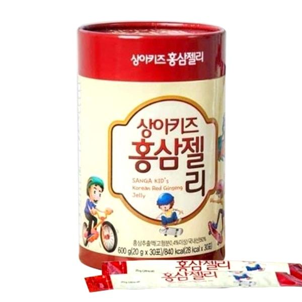 Thạch hồng sâm baby SANGA KID Korean Red Ginseng Jelly 600g Hàn Quốc