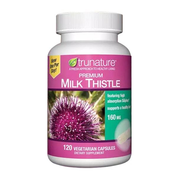 Viên uống bổ gan Trunature Premium Milk Thistle 120 viên