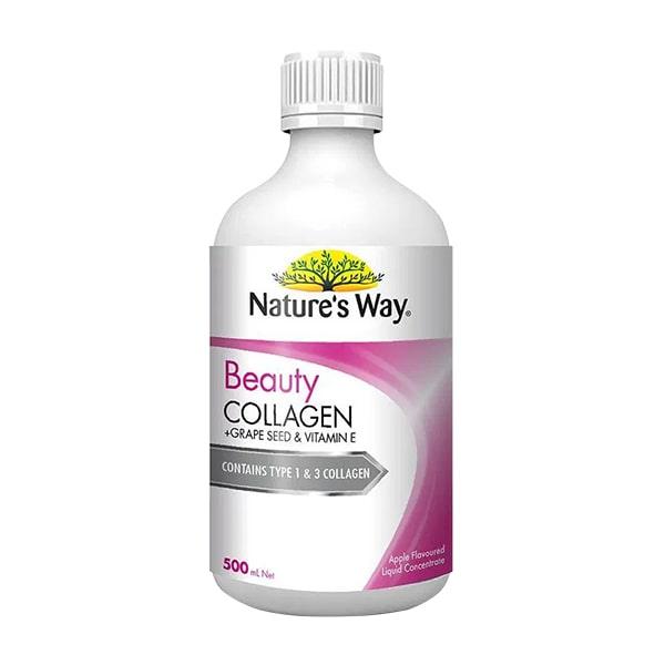 Nước uống Beauty Collagen Liquid Nature's Way 500ml Úc