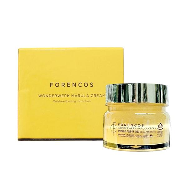Kem dưỡng Forencos Wonderwerk Marula Cream màu vàng chính hãng Hàn Quốc