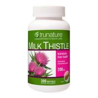 Viên Bổ Gan Trunature Milk Thistle 200mg 300Viên Của Mỹ