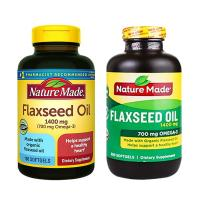 Dầu hạt lanh Omega 3 6 9 Flaxseed Oil Nature Made 1400mg mẫu mới