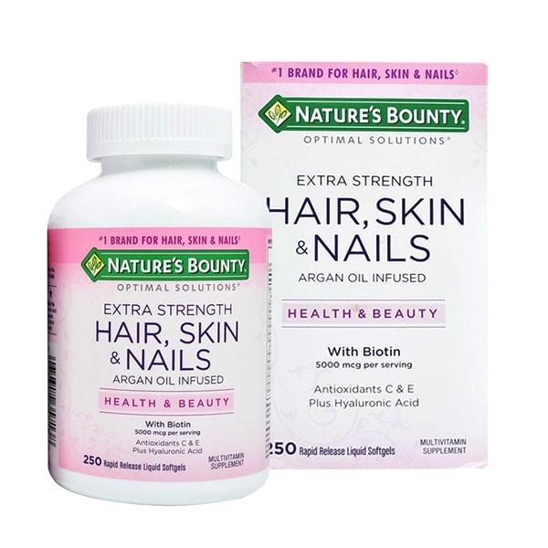 Nature's Bounty Hair, Skin & Nails 250 Viên Của Mỹ