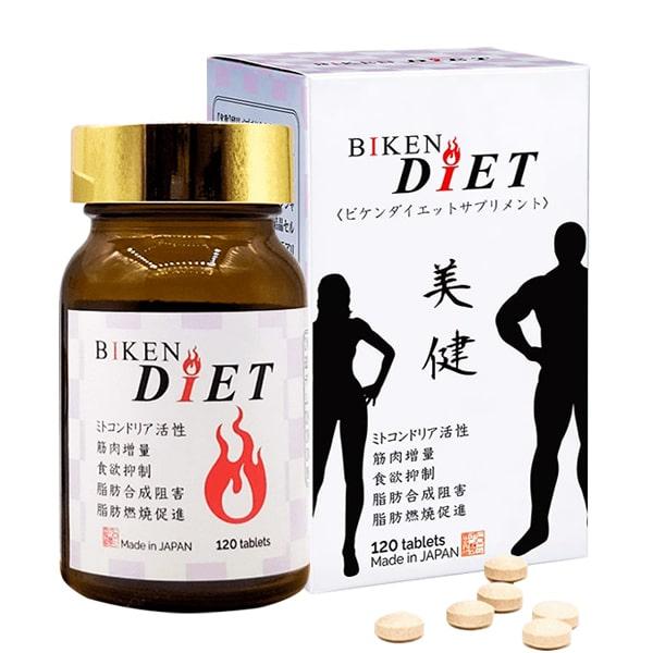 Viên uống giảm cân Biken Diet 120 viên của Nhật Bản