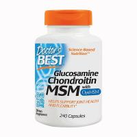 Doctor's Best Glucosamine Chondroitin MSM 240 ...