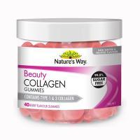 Kẹo dẻo đẹp da Beauty Collagen Gummies Nature's Way 40 viên