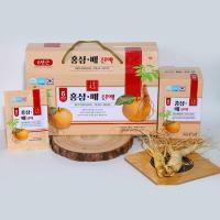 Nước hồng sâm lê Red Ginseng Pear Liquid 30 gói x 50ml