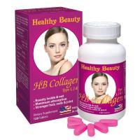 Viên uống HB Collagen 1,2 & 3 Healthy Beauty 120 viên
