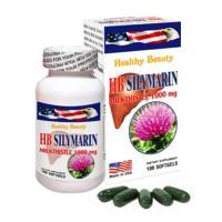Viên uống bổ gan HB Silymarin Milk Thistle 1000mg của Mỹ