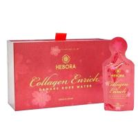 Nước uống Hebora Collagen Enrich Damask Rose Water 2021