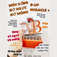 Viên uống nở ngực, mông B-Up Miracle + 60 viên Nhật Bản