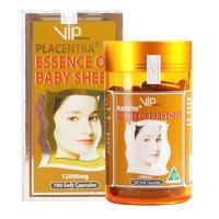 Nhau Thai Cừu Vip Placentra Essence Of Baby Sheep 12000mg 100 Viên