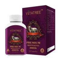 Nhau Thai Cừu Vitatree Premium Placenta 40.000mg 60 Viên Của Úc