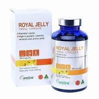 Sữa Ong Chúa Cao Cấp Royal Jelly Careline 1000mg 3...