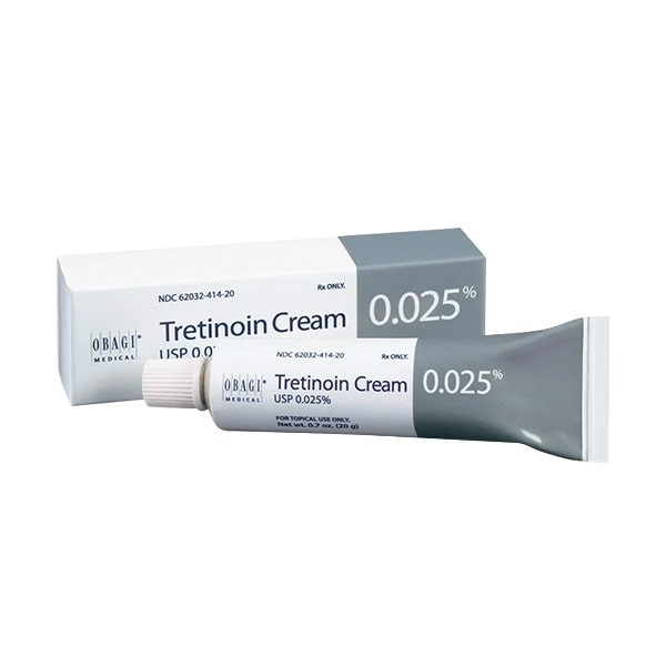 Kem trị mụn chống lão hóa Obagi Tretinoin Cream 0,025% Mỹ