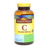 Viên bổ sung Vitamin C Nature Made 500mg của Mỹ 180 viên