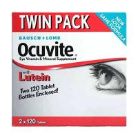 Thuốc Bổ Mắt Bausch Lomb Ocuvite Twin Pack Với Lut...